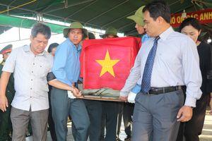 Gia Lai tổ chức truy điệu, an táng 45 hài cốt liệt sĩ