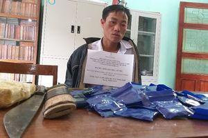 Biên phòng bắt giữ đối tượng vận chuyển hơn 11.000 viên ma túy