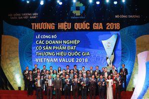 Tân Hiệp Phát, Ôtô Trường Hải có sản phẩm đạt Thương hiệu QG 2018