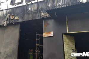 Công an khám nghiệm hiện trường vụ cháy khiến 6 người chết ở Đồng Nai