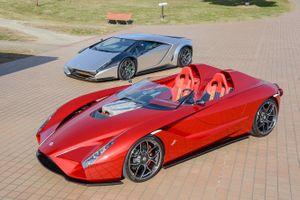 Bộ đôi siêu xe lấy cảm hứng từ Lamborghini, Ferrari giá 3 triệu USD