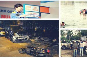 Xăng giảm giá lần 5 liên tiếp, nhiều vụ tai nạn do nữ cầm lái làm 'nóng' dư luận