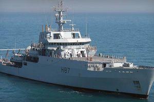 Tàu chiến Anh tới Ukraine 'gửi thông điệp' cho ông Putin?