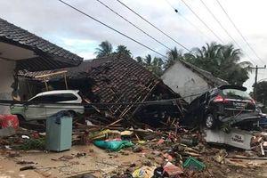 Sóng thần ở Indonesia: Khung cảnh hoang tàn tại bãi biển Anyer
