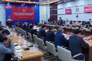 Lãnh đạo Ủy ban Quản lý vốn Nhà nước tại doanh nghiệp làm việc với MobiFone