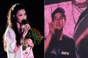 Fan xúc động khoảnh khắc Ông Cao Thắng lặng lẽ đứng khóc sau liveshow Đông Nhi
