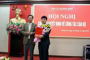 Trao quyết định của Ban Bí thư về công tác cán bộ ở Quảng Ninh