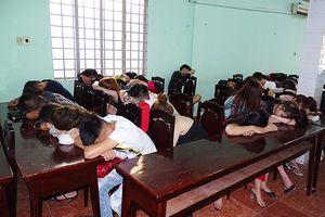 48 thanh niên mở tiệc ma túy trong căn nhà có nhiều camera quan sát