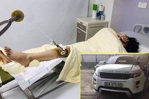 Nghi vấn 'người đóng thế' vụ Range Rover đâm gãy chân nữ sinh