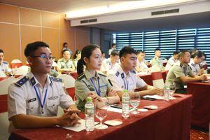 Giao lưu sĩ quan trẻ Cảnh sát biển Việt Nam-Trung Quốc