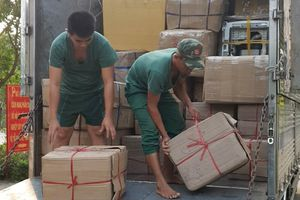 Bắt vụ vận chuyển hàng hóa nhập lậu qua biên giới trị giá gần 2 tỷ đồng