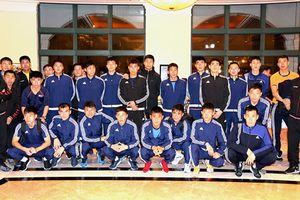 Đội tuyển Việt Nam sẵn sàng đọ tài với Triều Tiên