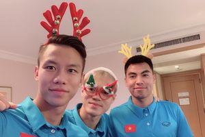 Các tuyển thủ Việt Nam đón Noel như thế nào?