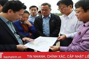 Chủ tịch UBND tỉnh Hà Tĩnh kiểm tra hoạt động sản xuất tại KKT Vũng Áng