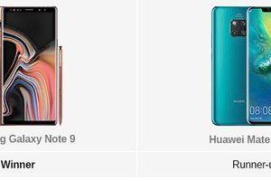Người dùng bình chọn Samsung Galaxy Note9 là 'Điện thoại tốt nhất năm 2018'