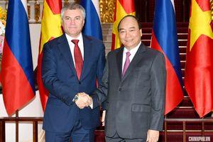 Thủ tướng: Dù trong hoàn cảnh nào, hai nước Việt – Nga luôn kề vai, sát cánh ủng hộ nhau