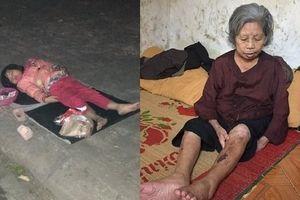 Trải lòng của cụ bà 'sống dựa' tiền ăn xin của cháu gái 5 tuổi ở Nam Định