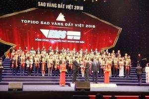 EMS Việt Nam được vinh danh Top 100 Sao Vàng đất Việt 2018