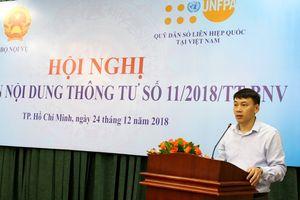 Hội nghị phổ biến nội dung Thông tư số 11/2018/TT- BNV ngày 14/9/2018 của Bộ trưởng Bộ Nội vụ ban hành Bộ chỉ tiêu thống kê về thanh niên Việt Nam
