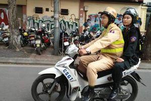 Tăng cường xử phạt không đội MBH, nâng cao ý thức tự giác khi tham gia giao thông