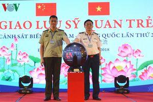 Giao lưu sỹ quan trẻ Cảnh sát biển Việt Nam-Trung Quốc
