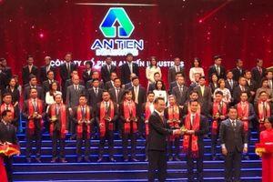 An Tiến nhận giải thưởng Sao Vàng đất Việt