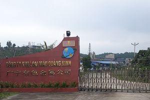 Công ty Kim loại màu Quảng Ninh cần nghiêm túc thực hiện các quy định về bảo vệ môi trường