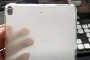 Xuất hiện ốp lưng của iPad Mini 5, gợi ý tính năng mới