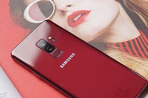 Điểm ấn tượng trên Samsung Galaxy S9 Plus phiên bản Red Burgundy