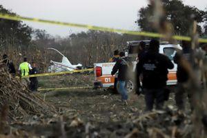 Mexico: Rơi trực thăng, Thống đốc và thượng nghị sĩ thiệt mạng