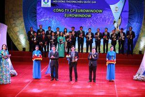 Eurowindow được vinh danh 'Thương hiệu quốc gia' lần thứ 4 liên tiếp