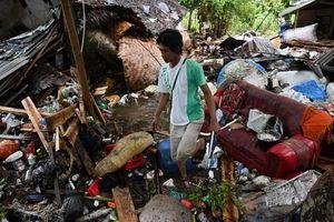 Thương vong vì sóng thần ở Indonesia tiếp tục tăng cao