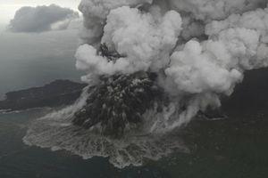 Chuyên gia kết luận nguyên nhân gây ra sóng thần ở Indonesia đêm 22/12