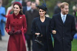Kate Middleton và Meghan Markle xuất hiện rạng rỡ sau tin đồn bất hòa