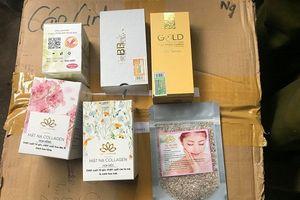 Tạm giữ hàng nghìn sản phẩm làm đẹp không rõ nguồn gốc tại cơ sở kinh doanh 'chui'