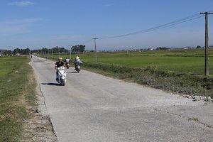 Thanh Hóa: Liên danh Tuấn Linh - Tuấn Hùng làm đường BT 224,6 tỷ