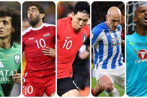 5 sự vắng mặt đáng tiếc nhất Asian Cup 2019