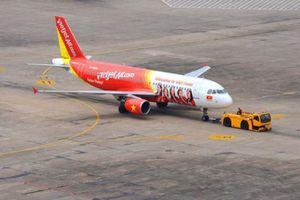 Máy bay Vietjet Air hạ cánh nhầm đường băng chưa khai thác ở Cam Ranh