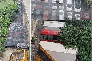Vụ bãi xe lậu dưới gầm cầu Thăng Long: Kỷ luật 2 lãnh đạo Cty Hà Thái