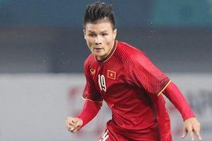Quang Hải là VĐV tiêu biểu số 1 của thể thao Việt Nam năm 2018?