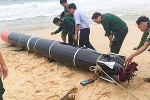 Bộ Quốc phòng: 'Vật thể lạ' ở Phú Yên là ngư lôi phục vụ bắn tập của nước ngoài