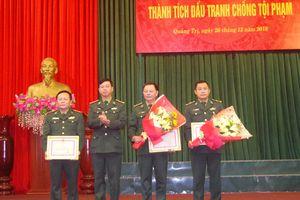 Trao thưởng thành tích đấu tranh các chuyên án ma túy tại Quảng Trị