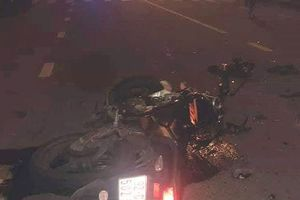 Xe máy đâm nhau trong đêm, hai người tử vong tại chỗ