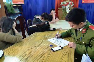 Phát hiện 13 thanh thiếu niên 'phê' ma túy trong tiệm tóc