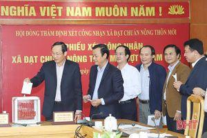 35 xã tại tỉnh Hà Tĩnh được công nhận đạt chuẩn nông thôn mới đợt 3/2018