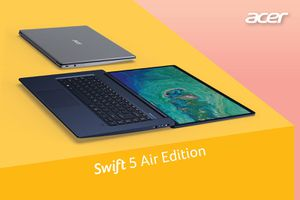 Hiệu quả vượt trội với dòng laptop 'siêu mỏng, siêu nhẹ' Acer Swift Series