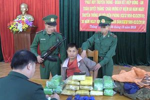 Bắt một người Lào vận chuyển số lượng ma túy cực lớn qua biên giới