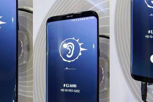 Samsung sắp giới thiệu smartphone phát âm thanh từ màn hình