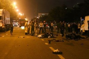 Đà Nẵng: Xe máy tông nhau trong đêm, 2 người tử vong