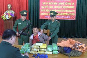 Bắt đối tượng người Lào vận chuyển số lượng lớn ma túy vào Việt Nam